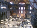 Inside Haggia Sophia (church, mosque, museum) pic 1